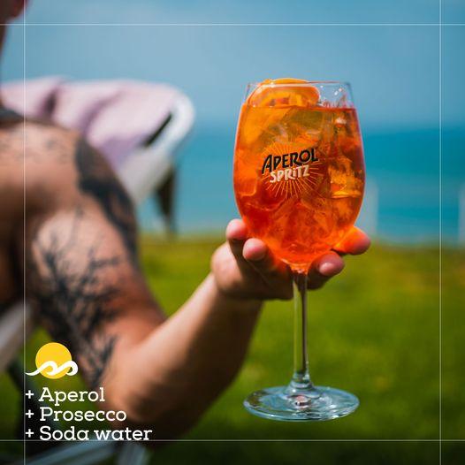 This is the spirit of Aperol Spritz @Aptera beach resort